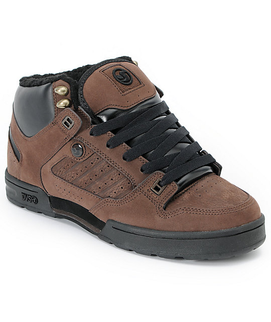 bb3fc4842e9 DVS Militia Brown Nubuck Boot