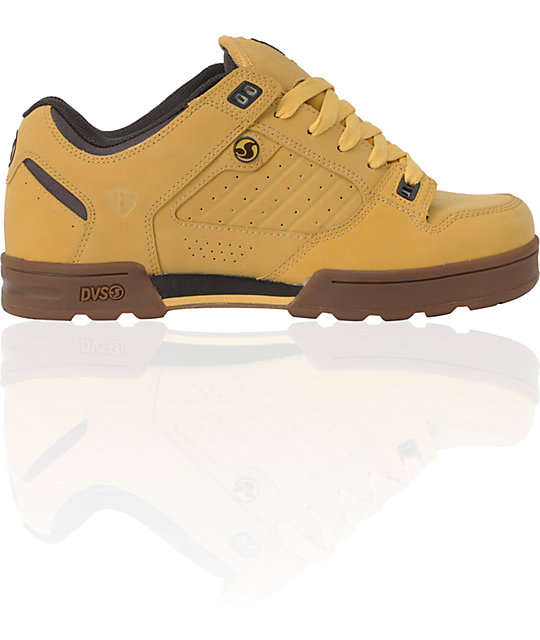 DVS Militia JJ Snow Tan Nubuck All Terrain Shoes