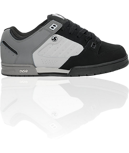 DVS Militia Snow Black Nubuck Print Shoes