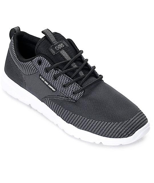 DVS Premier 2.0 Jacquard Black & Grey Shoes ...