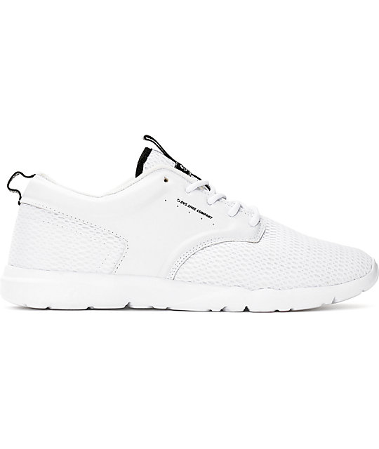 DVS Premier 2.0 White Mesh Shoes