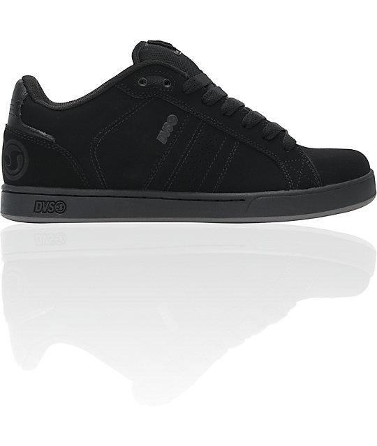 b86e278c50 DVS Shoes Charge Black BTS Skate Shoes