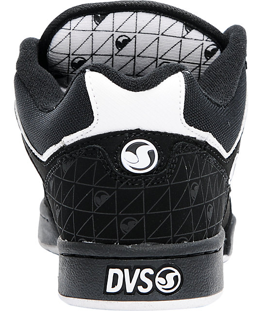 DVS Transom Black Nubuck Skate Shoes