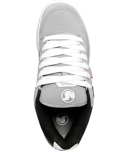 DVS Transom Grey, White & Black Shoes
