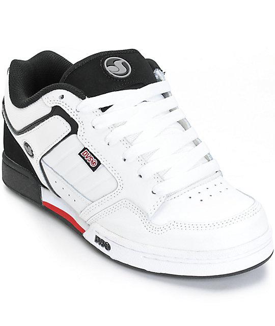 50e0657b24c DVS Transom Leather Skate Shoes