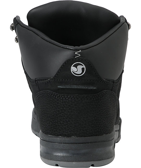 DVS Westridge Black Nubuck Boot