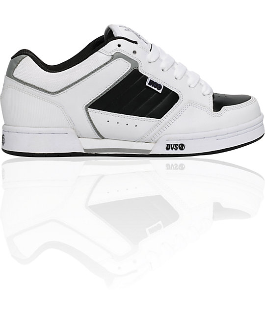 DVS x Young & Reckless Transom White & Black Shoes