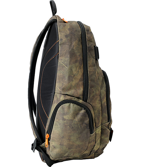 Dakine Atlas Timber Camo Skate Backpack