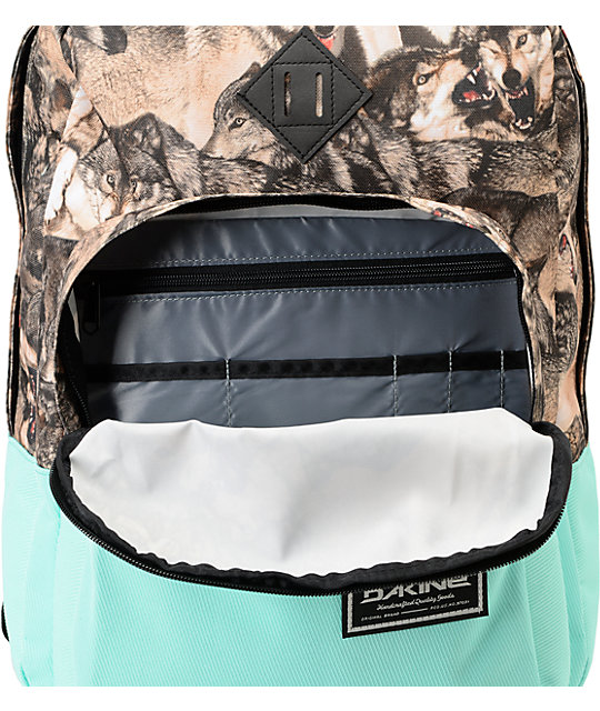 Dakine Capitol Wolf Pack Print Laptop Backpack