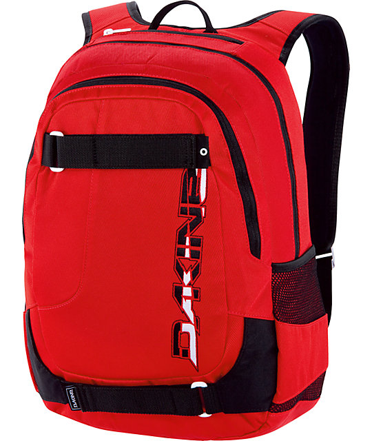 dakine red backpack