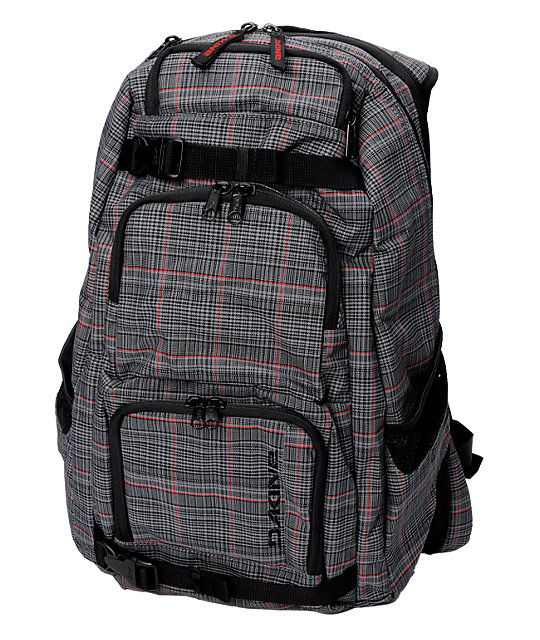 Dakine Duel Sequel Plaid Skate Pack