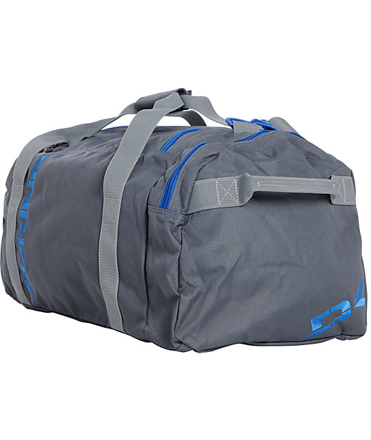 Dakine EQ Medium Grey & Blue Stencil Duffel Bag