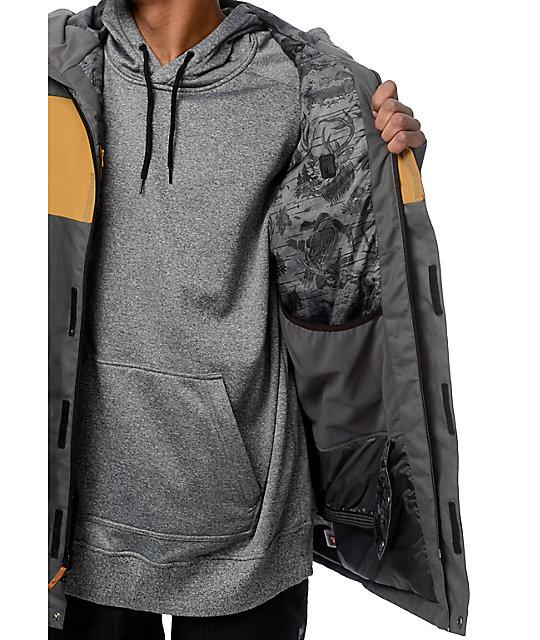 Snowboard Dakine Jacket 10K Elsman Black Zumiez 7wwqH1v