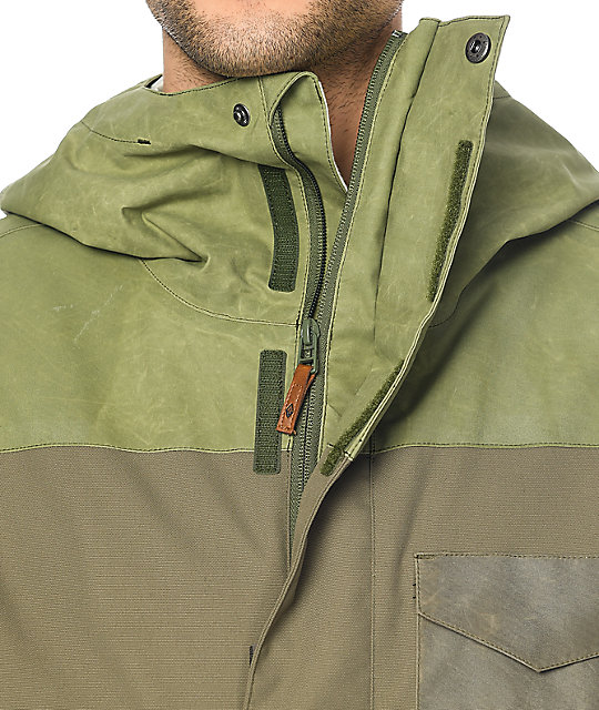 Dakine Elsman Surplus Green 10K Snowboard Jacket