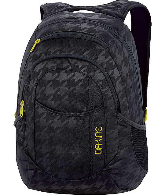Dakine Garden Black Houndstooth Backpack