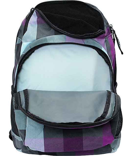 Dakine Hana Belle Plaid Backpack