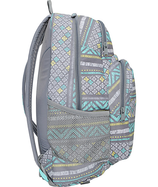Dakine Hana Sierra Print Grey Backpack