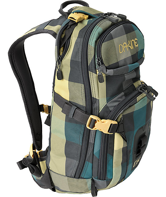 Dakine Heli Pro Devin Checks Backpack