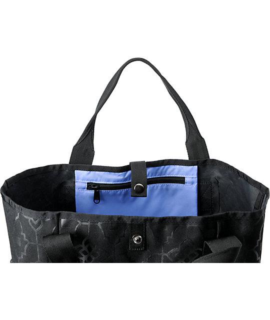 f7b66ba817d1 Dakine Kelsey Carpri Black Tote Bag | Zumiez