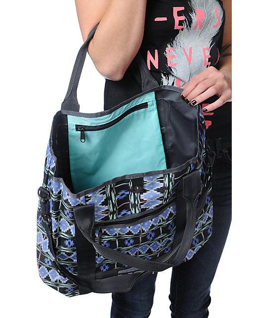 383ed2787fef Dakine Kelsey Meridian Print Tote Bag | Zumiez
