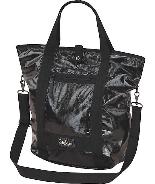 04fabf97e833 Dakine Kelsey Raven Black Tote Bag | Zumiez