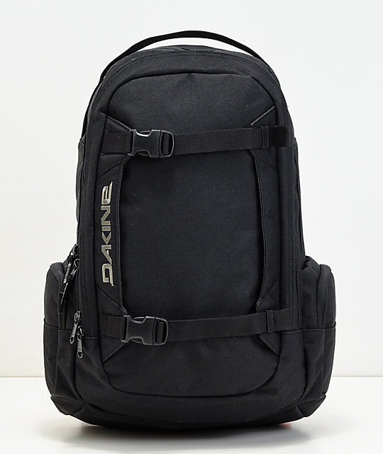 Dakine Mission Black Backpack