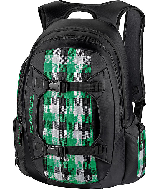 Dakine Mission Fairway Plaid Backpack