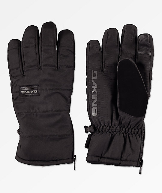 Dakine Omega Black & Grey Snowboard Gloves