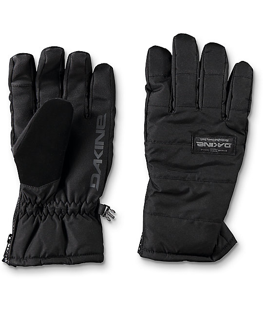 Dakine Omega Black Snowboard Gloves