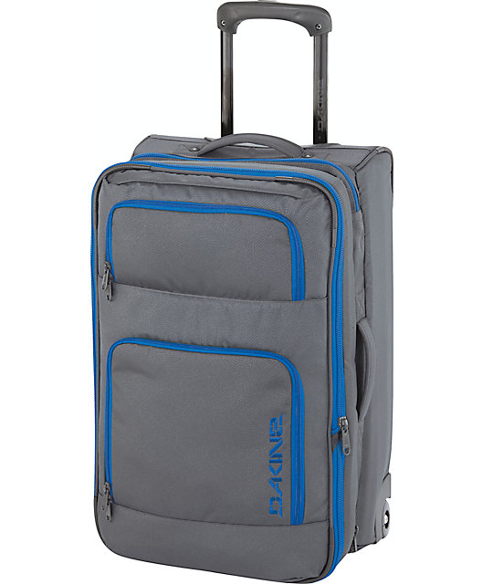 Dakine Over Under Grey & Blue Carry On Roller Bag