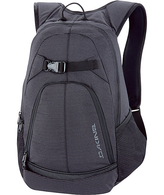Dakine Pivot Black Stripes Skate Skate Backpack