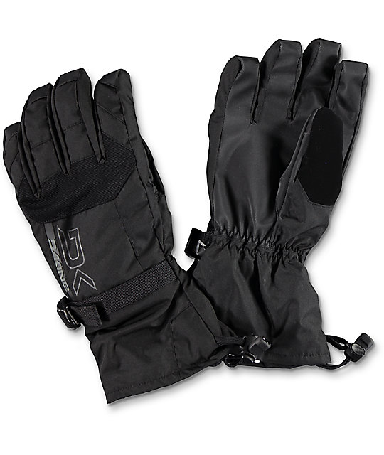 Dakine Scout Black Snowboard Gloves