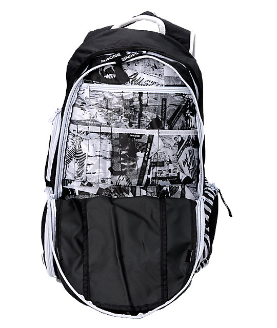 Dakine Team Mission Black & White Pack