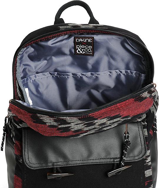 550f5ee4b45dc ... Dakine Willow Burgundy Ikat 2 18L Backpack ...