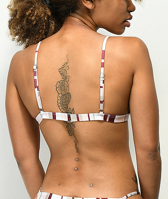 Damsel Ice Cream Triangle Bikini Top