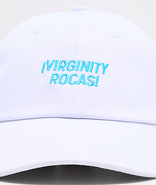 Danny Duncan Virginity Rocas White & Blue Strapback Hat
