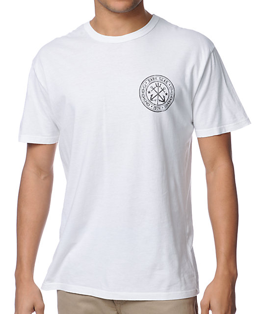 Dark Seas Academy White T-Shirt