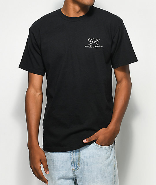 Dark Seas Atlantic Black & Tan T-Shirt