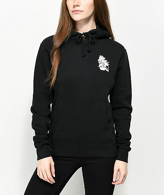 Dark Seas Atlantic Black Hoodie