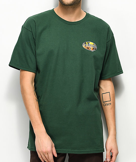 Dark Seas Good Days Forest Green T Shirt