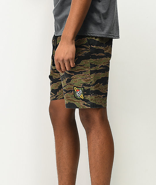 Dark Seas Kilgore Camo Shorts