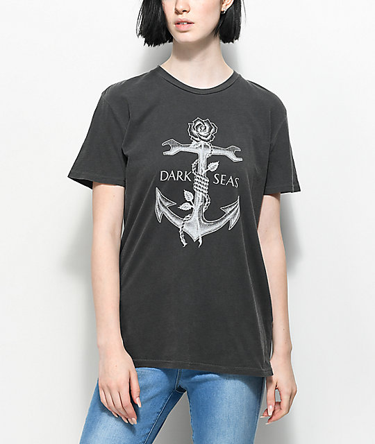Dark Seas Lost Love camiseta negra