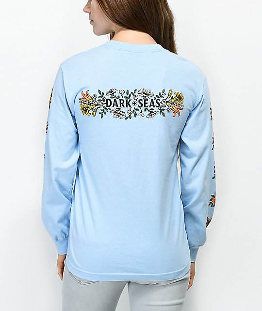 Dark Seas Memorial Blue Long Sleeve T-Shirt
