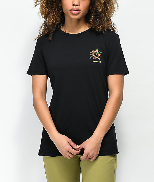 Dark Seas Memorial camiseta negra