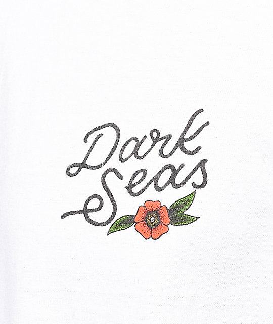 Dark Seas Rock Of Ages camiseta blanca