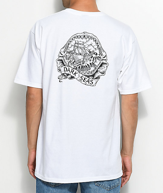 Dark Seas Rumors White T-Shirt