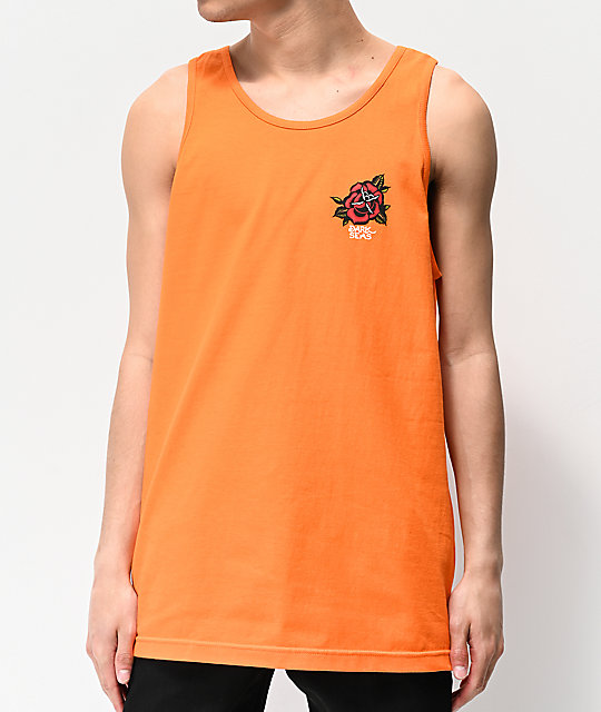 Dark Seas Utopia Orange Tank Top