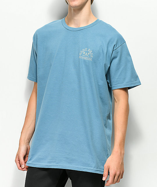 Dark Seas Water Marker Blue T-Shirt