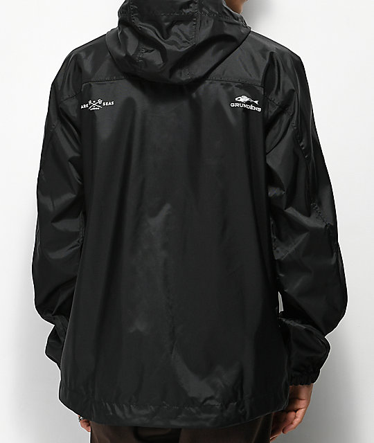 Dark Seas x Grundens Weather Watch Black Jacket