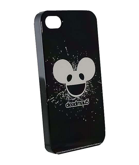 Deadmau5 Black & White Glow In The Dark iPhone 4 Case